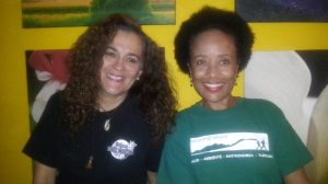 Chefs Patricia Miranda, gastronomía sostenible, Restaurante Cerro Brujo Gourmet. Lorraine Washington, cocina saludable, Fit Cuisine, Jamaica.